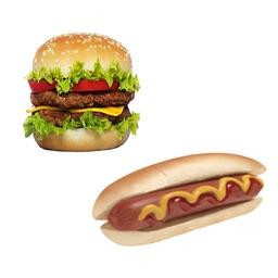 Hamburger or Hotdog