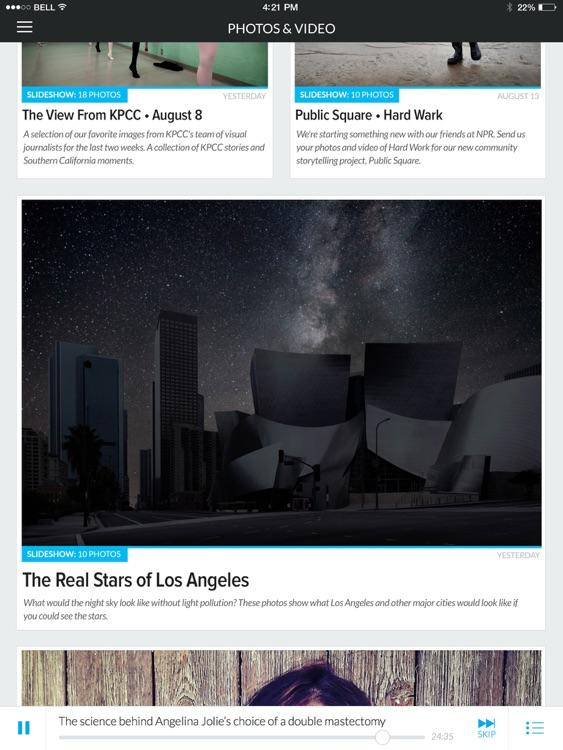 KPCC for iPad screenshot-4