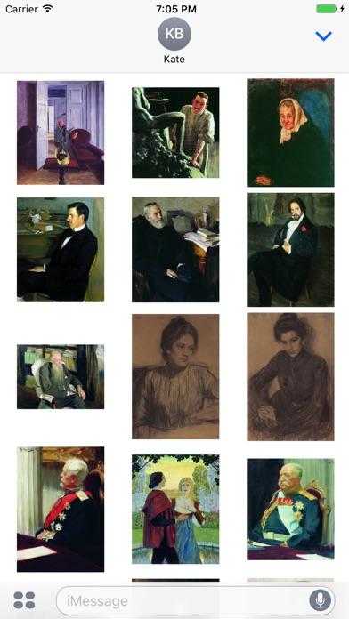 Boris Kustodiev Artworks Stickers-1