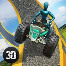 Crash Test Simulator: Traps and Wheels Full