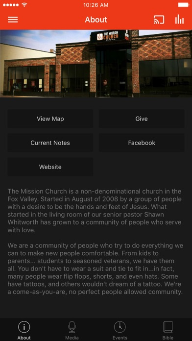 Mission Church Appleton screenshot 1
