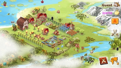 Conquer Earth : Location Based Stone Age War screenshot two