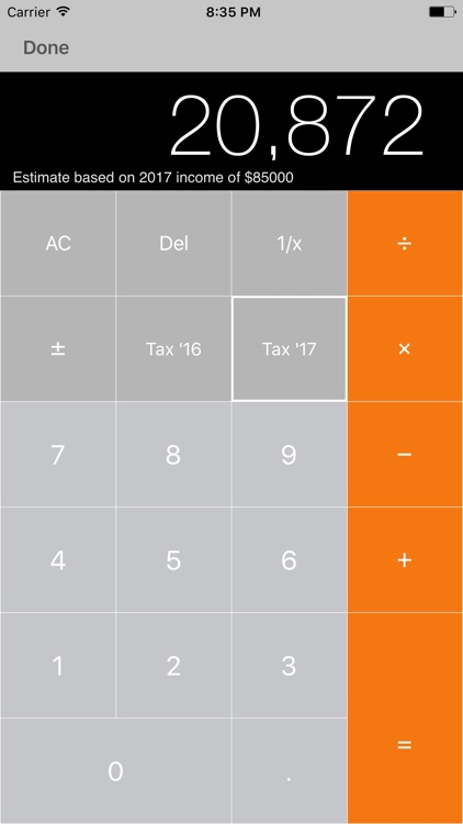my Tax – Income Tax Calculator with ATO Rates screenshot-3