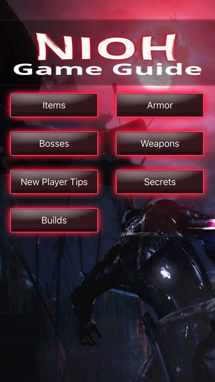 Game Guide for Nioh