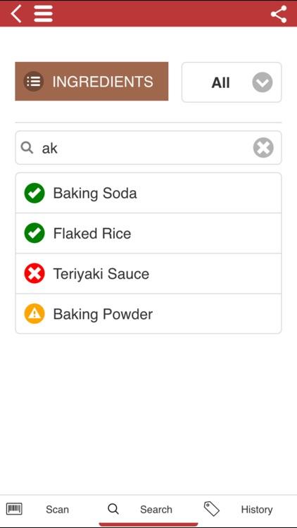The Gluten Free Scanner FULL - Barcode Scanner screenshot-3