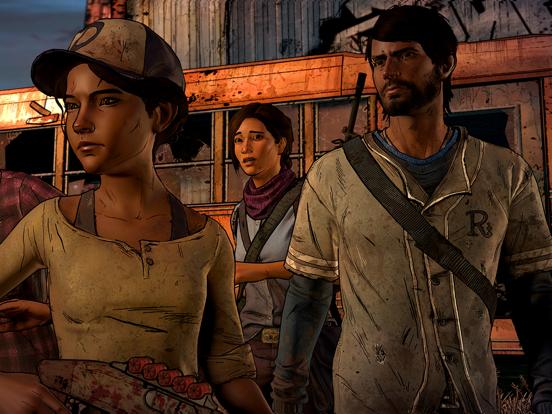 Ipad Screen Shot The Walking Dead: A New Frontier 1