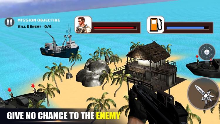 Helicopter Gunship Commando Strike