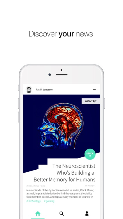 Stack: Personalized News Reading App