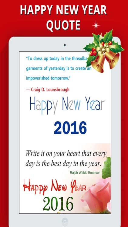 Happy New Year 2017 - Greetings & Quotes Message screenshot-4