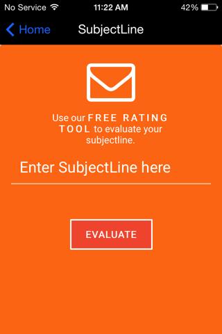 Subject Line - náhled