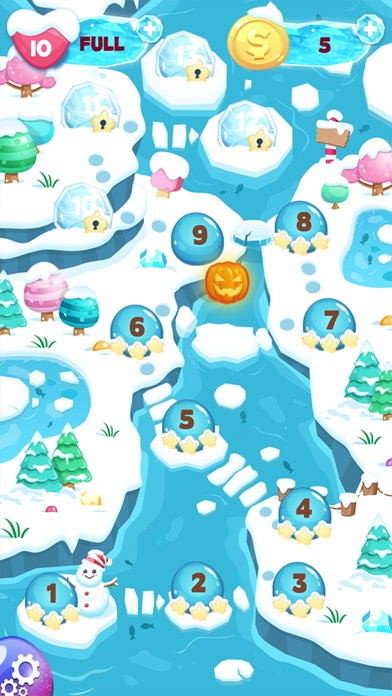 Frozen Bubble Shooter screenshot two