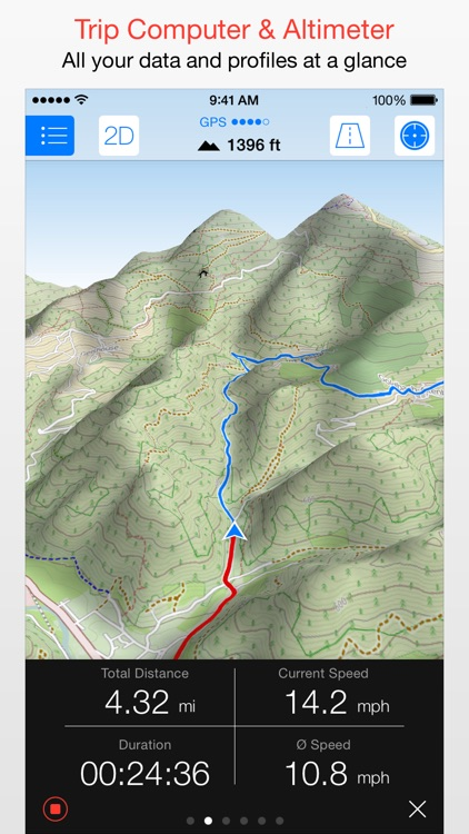 Maps 3D - GPS for Bike, Hike, Ski & Outdoor