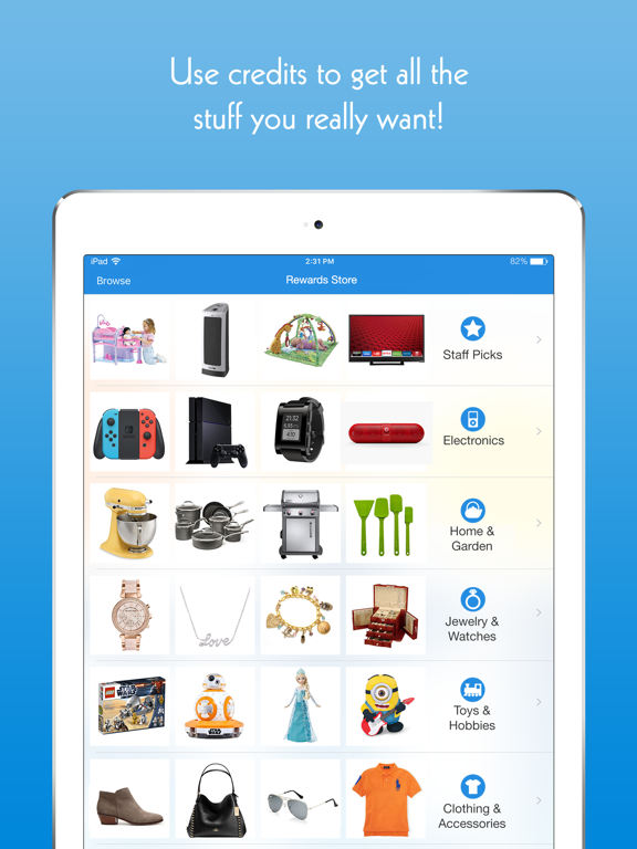 Listia - Get Free Stuff: Jewelry, Electronics, Clothing, Gadgets, Toys, Gift Cards and Coins on the Mobile Garage Sale App screenshot