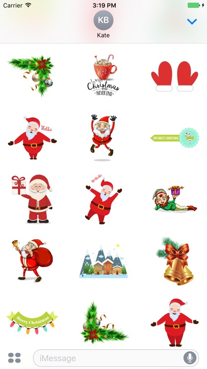 Cool Christmas Stickers