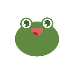 Funny toads - Cute stickers and emoji