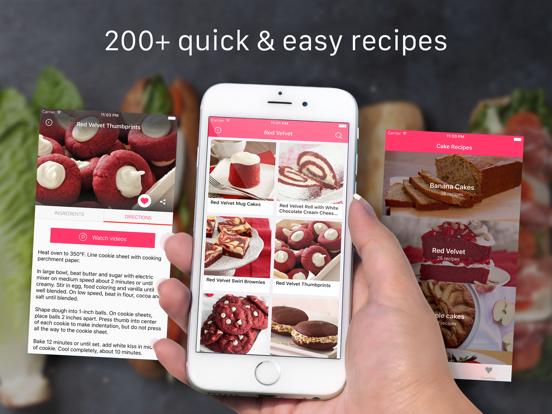 Cake Recipes: Baking, food recipes, cooking videos screenshot