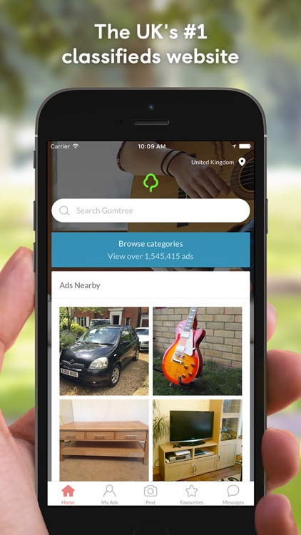Gumtree UK: Buy & Sell Local Cars, Property & More