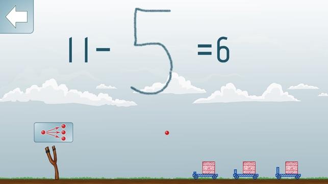 Math Shot Rechnen bis 20 Screenshot