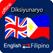 Filipino to English,English to Filipino Dictionary