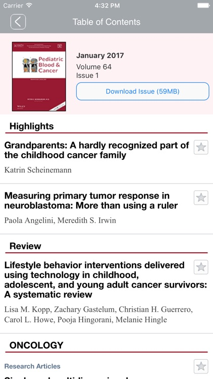 Pediatric Blood & Cancer screenshot-3