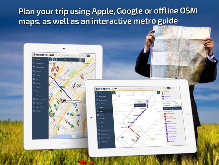 Singapore Travel Guide & offline city maps screenshot-3