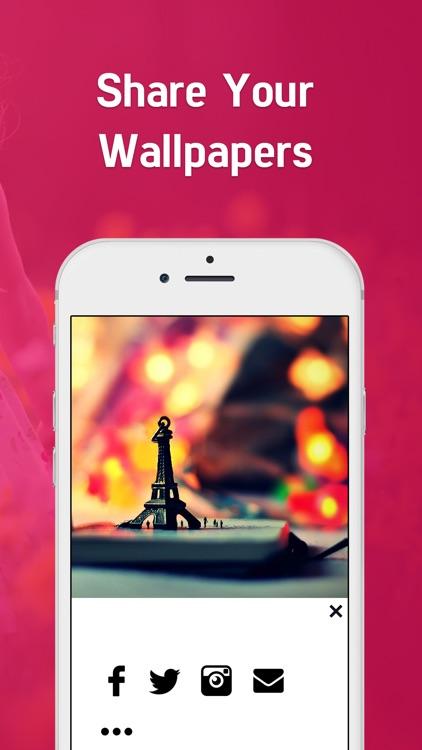 Girly` Wallpapers HD - Cute Backgrounds for Girls screenshot-3
