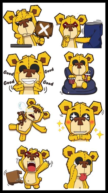Plushy Bear Stickers screenshot-3
