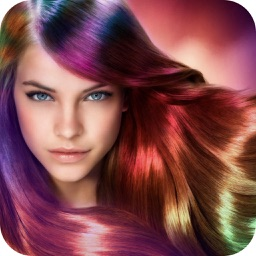 Hair Color Changer - Beauty makeup booth