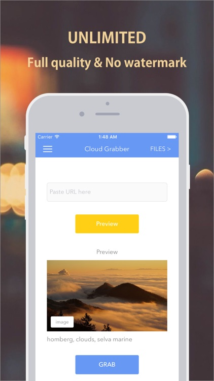 Cloud Grabber - Grab Photos and Videos to Dropbox