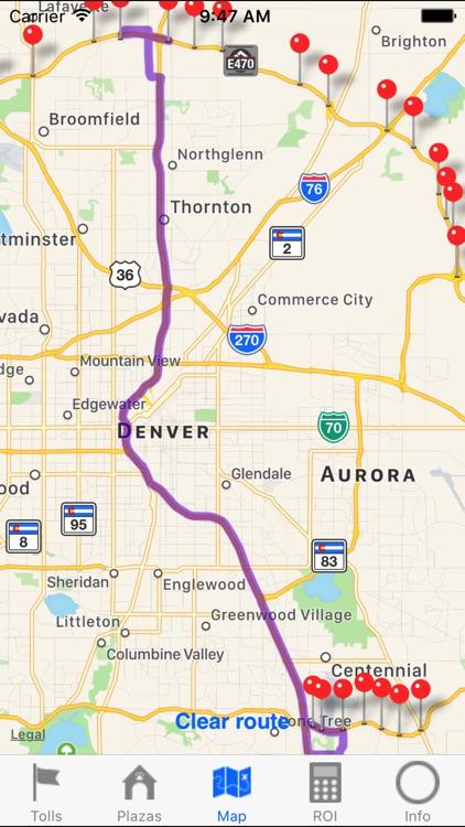Denver E-470 Toll Road 2017 screenshot-4