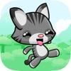 森の中にランニング子猫 - エンドレス