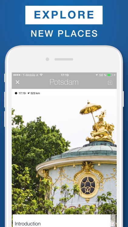 Potsdam - Travel Guide & Offline Map