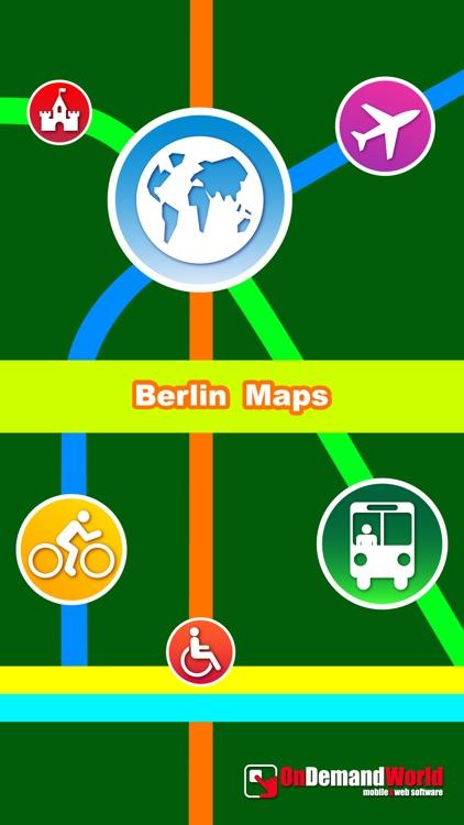 Berlin City Maps - Discover BER with MRT,Bus,Guide screenshot-4