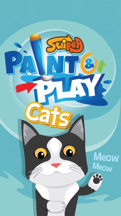 Paint & Play Cats, Coloring Book For Kids screenshot-4
