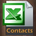 Esportazione di contatti in Excel icon
