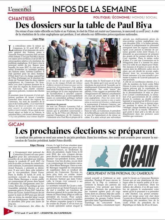 L'esssentiel du Cameroun screenshot 9