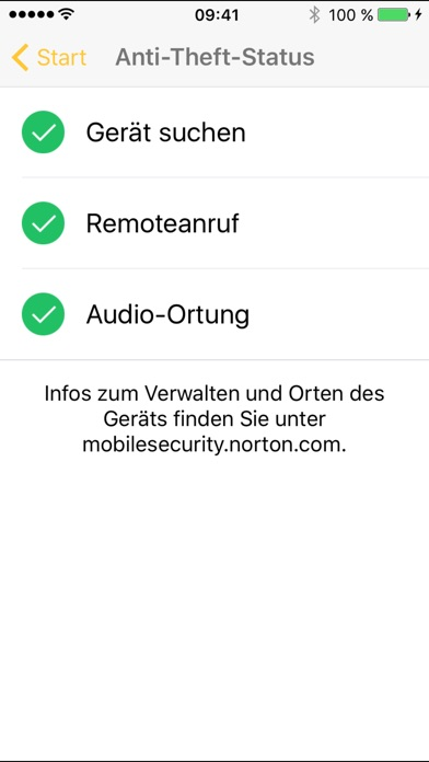 Norton Mobile Security – Lost Phone Finder Screenshot