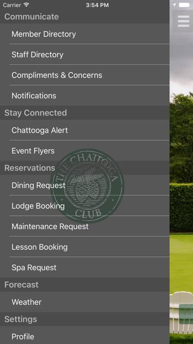 Chattooga Club app image