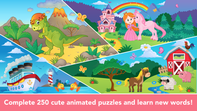 Shape Puzzle learning games for Toddler Kids free screenshot 1