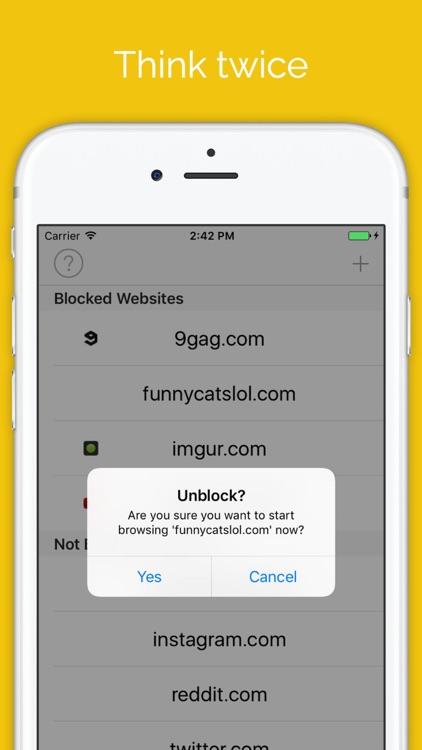 Block Distracting Websites screenshot-3