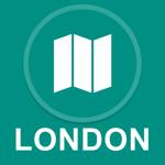London, UK : Offline GPS Navigation