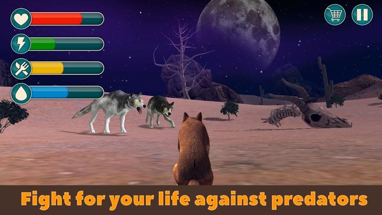 Dingo Dog Wild Life Simulator 3D screenshot-3