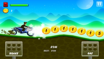 Up Hill Racing: Mountain Car Climb Screenshot