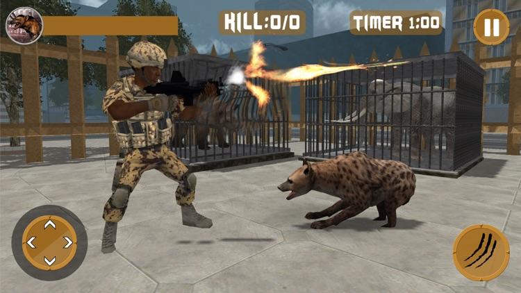 Hyena Rampage : Wild Animal Simulator 2017 screenshot-4