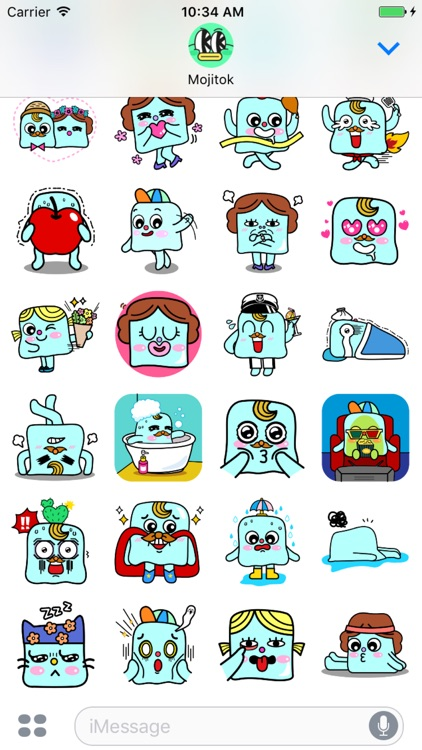 Cube Family Stickers