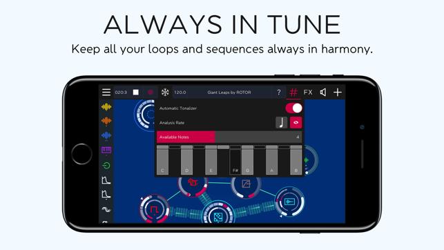 ROTOR - Tangible Music Synth Screenshot