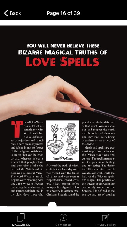 Wicca Magazine screenshot-3