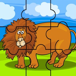 Animal Jigsaw Puzzle Games Kids Toddlers Learning