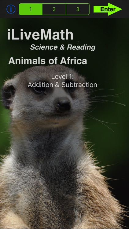 iLiveMath Animals Of Africa