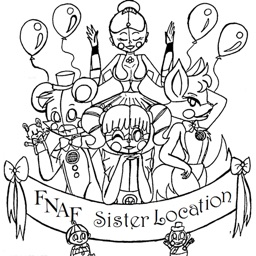 Coloring Pages For FNAF Sister Location